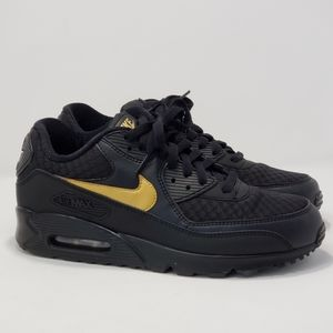Nike Air Max 90 Essential Black/Metallic Gold